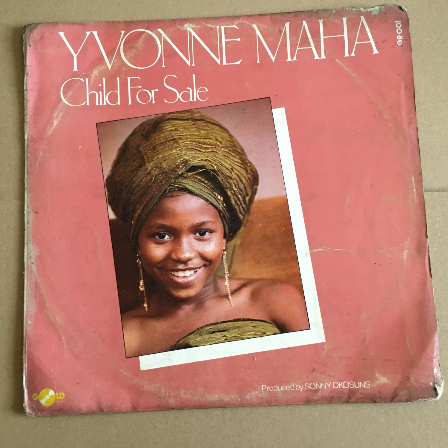 YVONNE MAHA LP child for sale SOUTH AFRICA DISCO FUNK mp3 LISTEN
