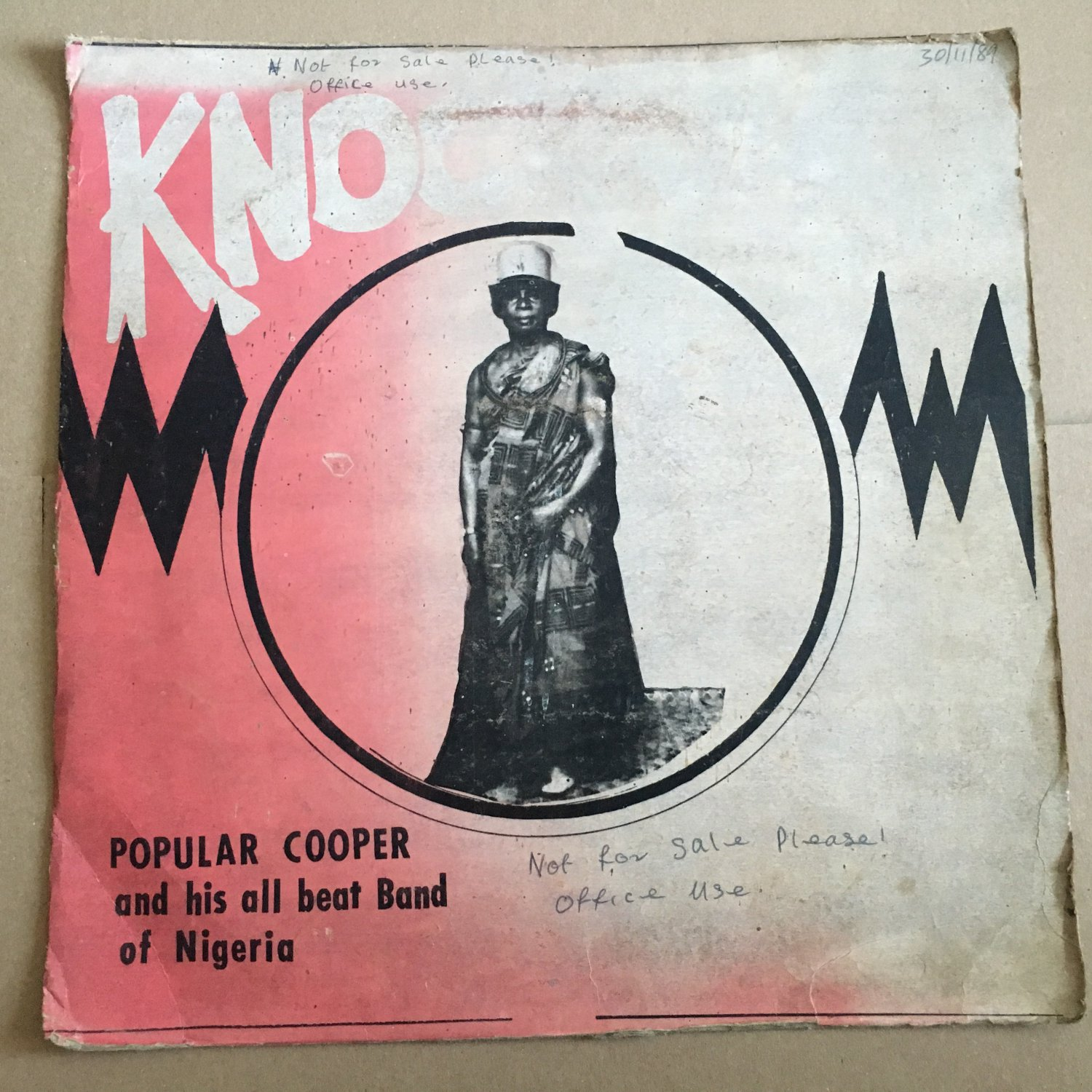 POPULAR COOPER & HIS ALL BEAT BAND LP knock out NIGERIA mp3 LISTEN