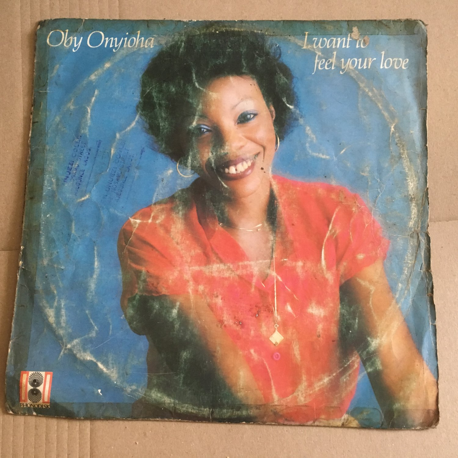 OBY ONYIOHA LP i want to feel your love NIGERIA BOOGIE FUNK mp3 LISTEN