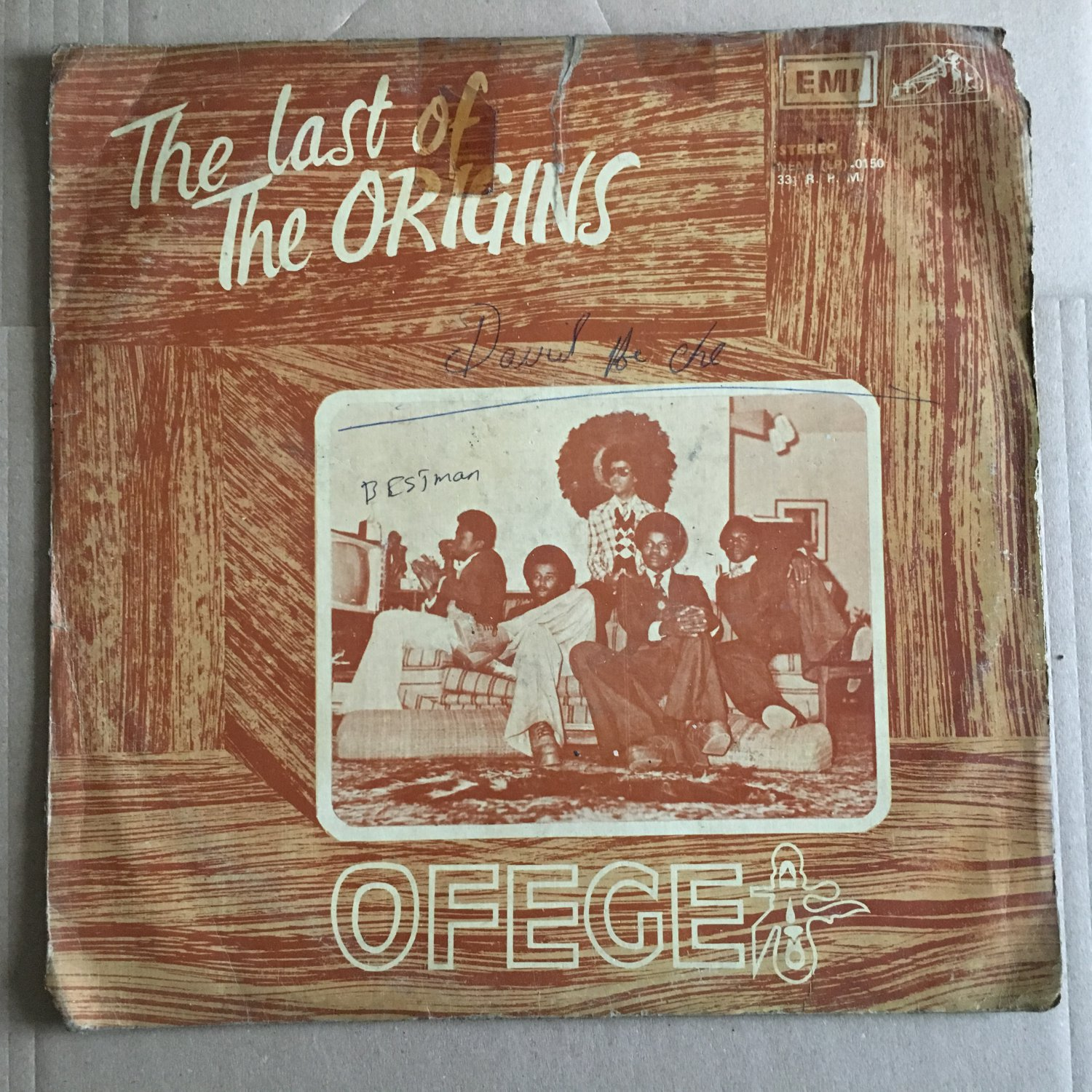 OFEGE LP the last of origins AFRO PSYCH FUNK mp3 LISTEN