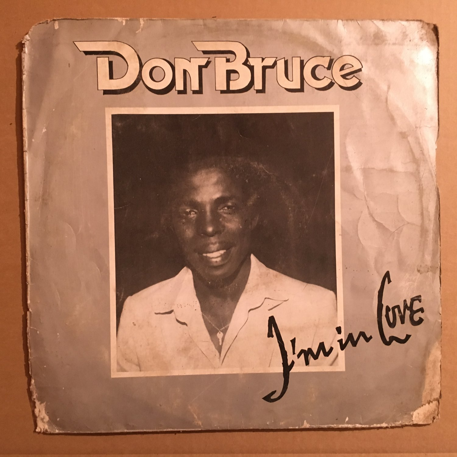 DON BRUCE LP i'm in love NIGERIA AFRO BOOGIE DISCO FUNK REGGAE mp3 LISTEN