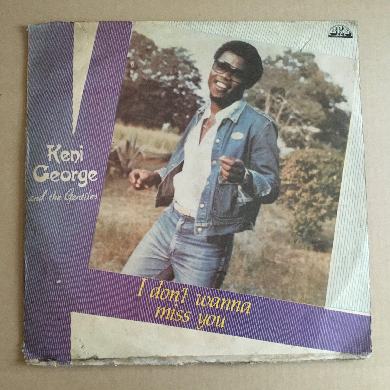 KENI GEORGE LP i don't wanna miss you NIGERIA AFRO FUNK BOOGIE mp3 LISTEN