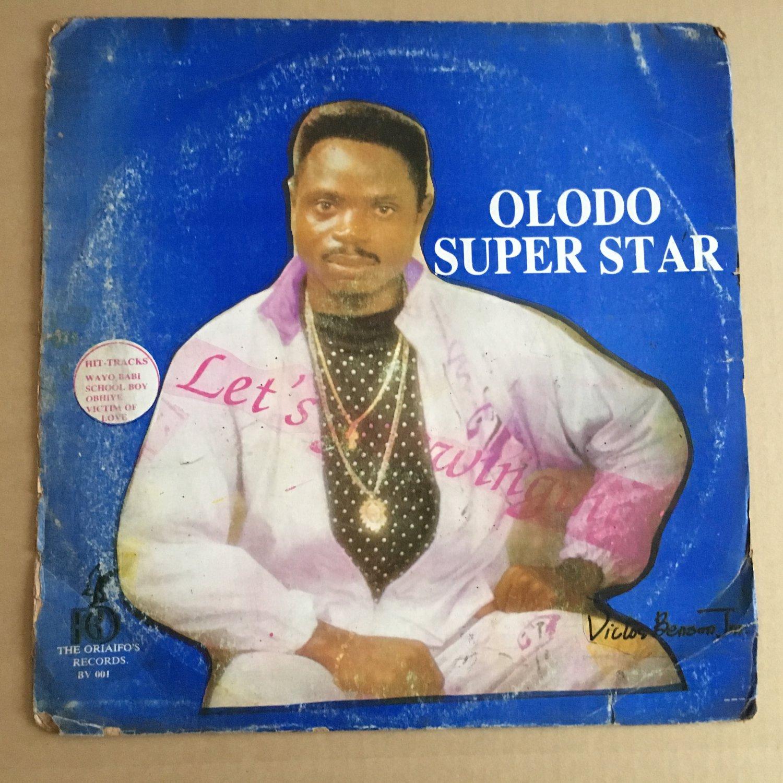 VICTOR BENSON JR & OLODO SUPER STARS LP let's go NIGERIA SOUKOUS REGGAE mp3 LISTEN