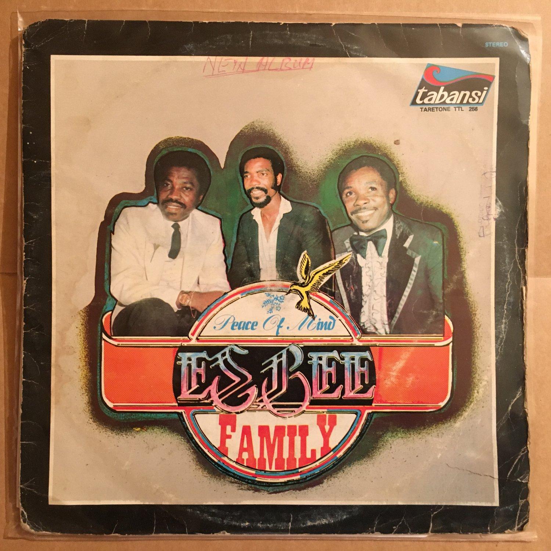 ESBEE FAMILY LP peace of mind NIGERIA AFRO BOOGIE FUNK mp3 LISTEN
