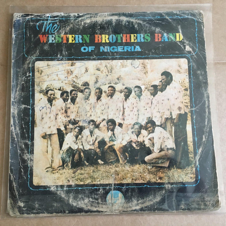 WESTERN BROTHERS BAND LP same NIGERIA JUJU mp3 LISTEN