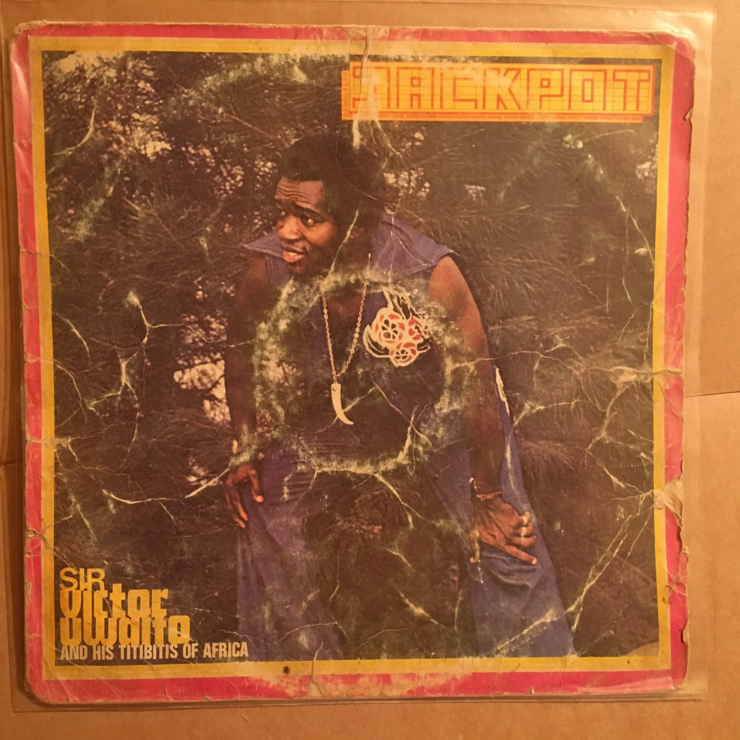 SIR VICTOR UWAIFO & HIS TITIBIS OF AFRICA LP jackpot AFRO FUNK PSYCH mp3 LISTEN