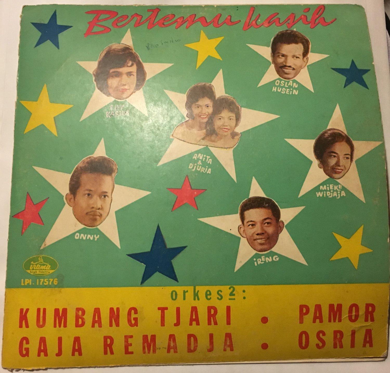 "BERTEMU KASIH 10"" various INDONESIA 50s 60s BEAT IRAMA mp3 LISTEN"