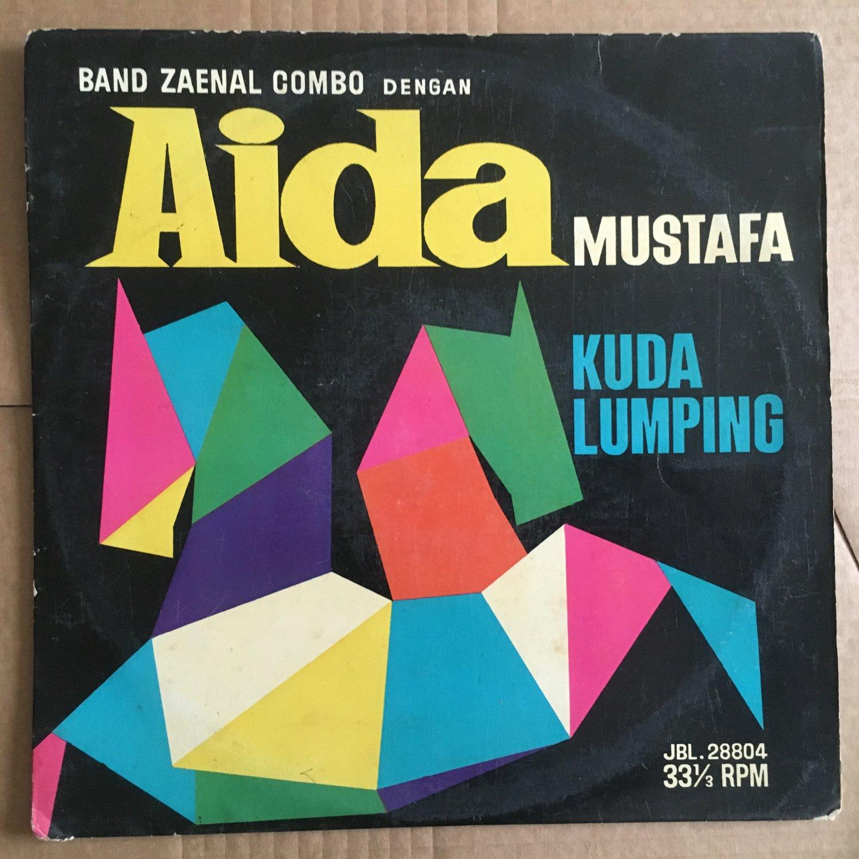 "AIDA MUSTAFA & BAND ZAENAL COMBO 10"" kuda lumping INDONESIA JBL 60's GARAGE mp3 LISTEN"