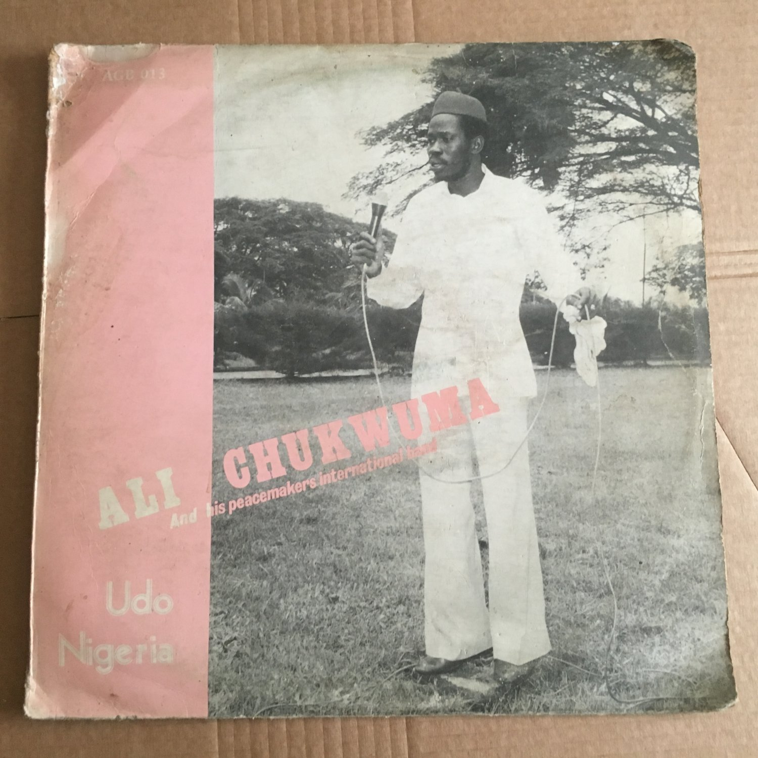 ALI CHUKWUMA & HIS PEACEMAKERS INT. BAND LP Udo NIGERIA DEEP HIGHLIFE mp3 LISTEN