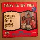 KHATIJAH HAMID - M. ALI & ORKES ZINDEGI 45 EP antara tua dan muda MALAYSIA mp3 LISTEN