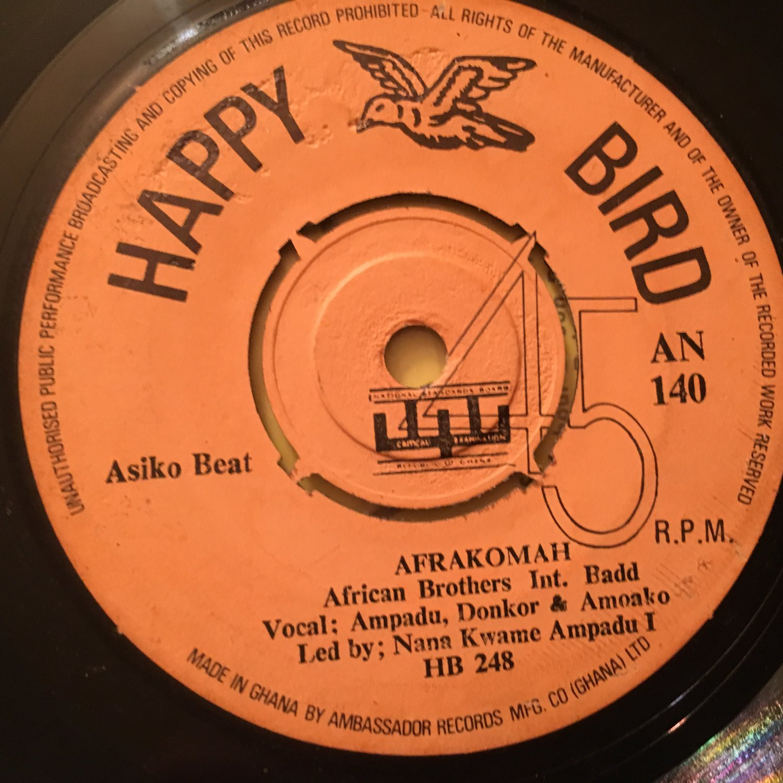 AFRICAN BROTHERS INT. 45 nku me fie - afrakomah GHANA HIGHLIFE mp3 LISTEN