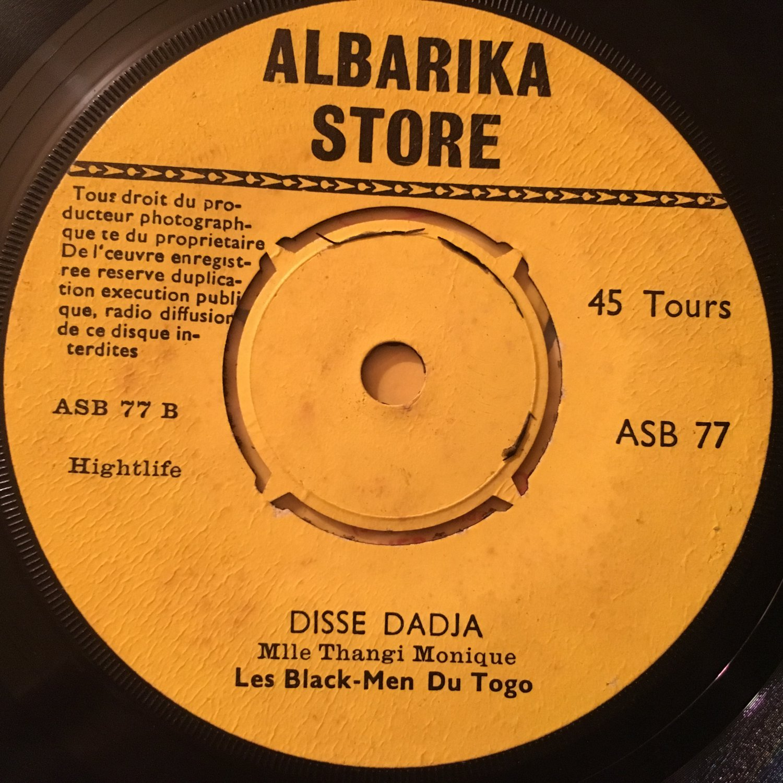 LES BLACK MEN DU TOGO 45 jeune togolais - disse dadja TOGO AFRO LATIN ALBARIKA mp3 LISTEN