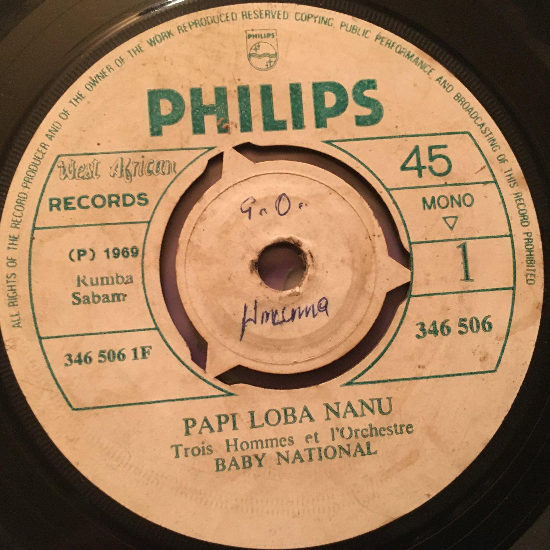 ORCH BABY NATIONAL 45 papu loba nanu - aimee CONGO RUMBA mp3 LISTEN