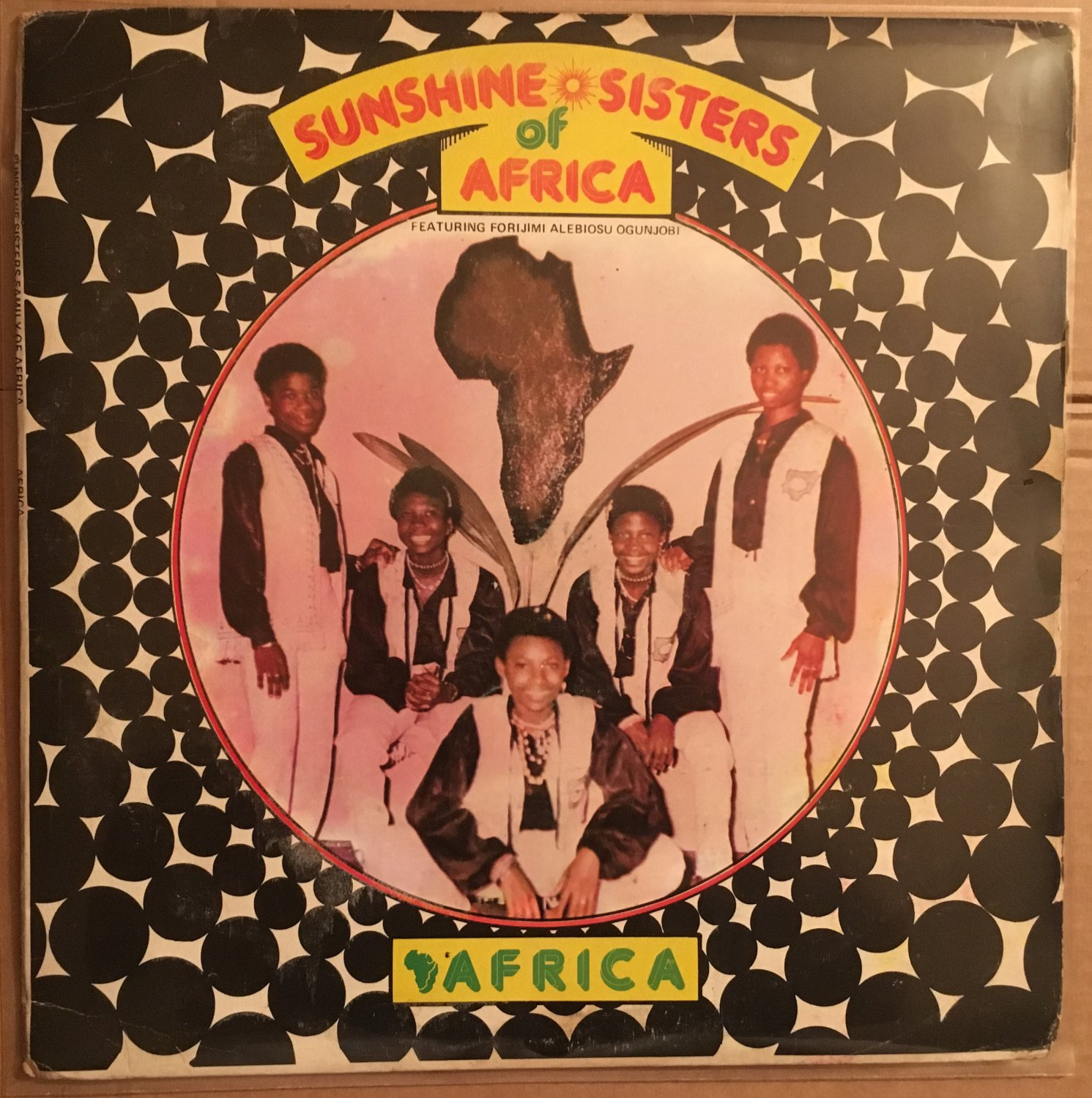 SUNSHINE SISTERS OF AFRICA LP Africa NIGERIA FUNK DISCO POP TARETONE RARE mp3 LISTEN