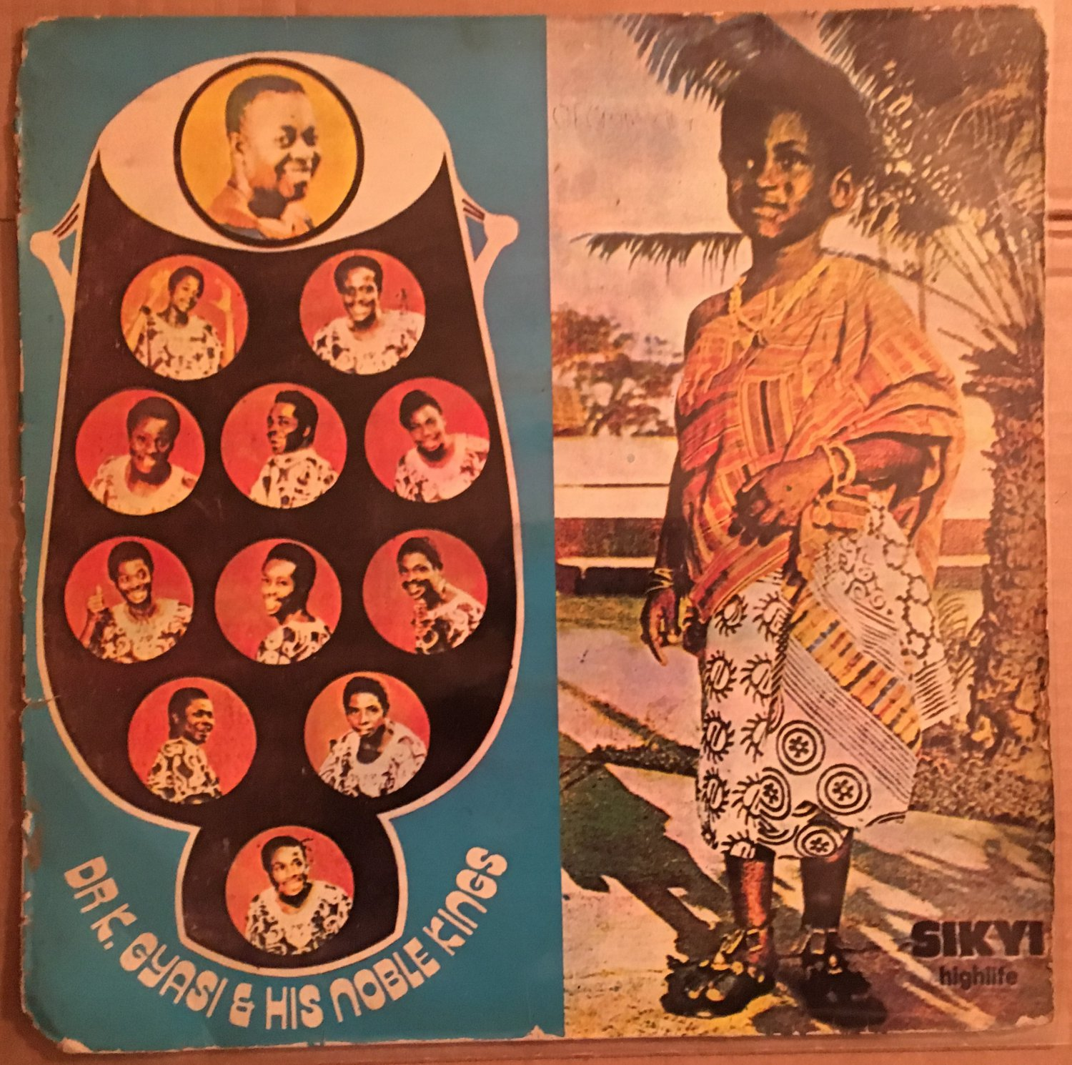 DR K GYASI & HIS NOBLE KINGS LP sikyi highlife GHANA mp3 LISTEN