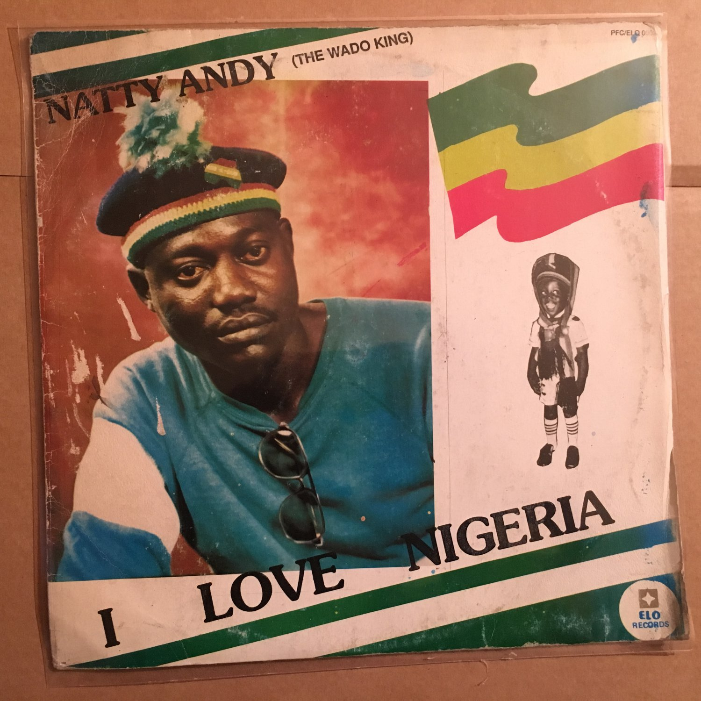 NATTY ANDY LP I Love Nigeria NIGERIA REGGAE mp3 LISTEN