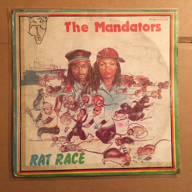 THE MANDATORS LP rat race NIGERIA REGGAE mp3 LISTEN