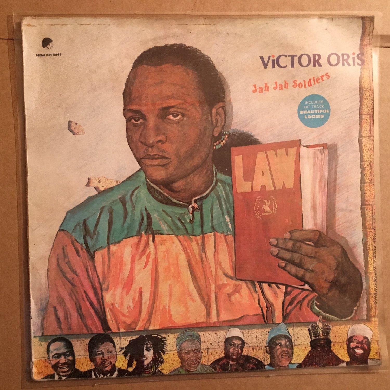 VICTOR ORIS LP Jah Jah soldiers NIGERIA REGGAE mp3 LISTEN