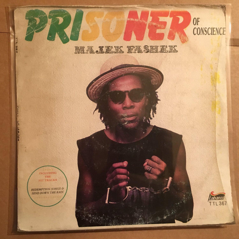 MAJEK FASHEK LP prisoner of conscience NIGERIA REGGAE mp3 LISTEN