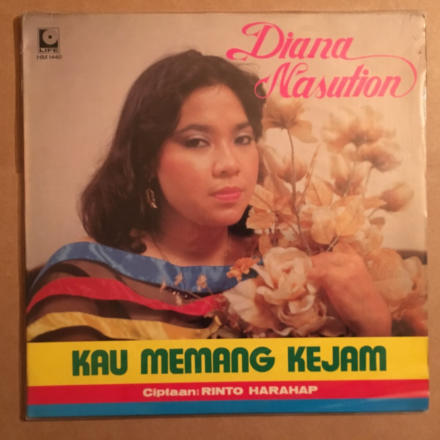 DIANA NUSUTION LP kau memang kejam INDONESIA SWEET SOUL MELLOW FUNK LP mp3 LISTEN