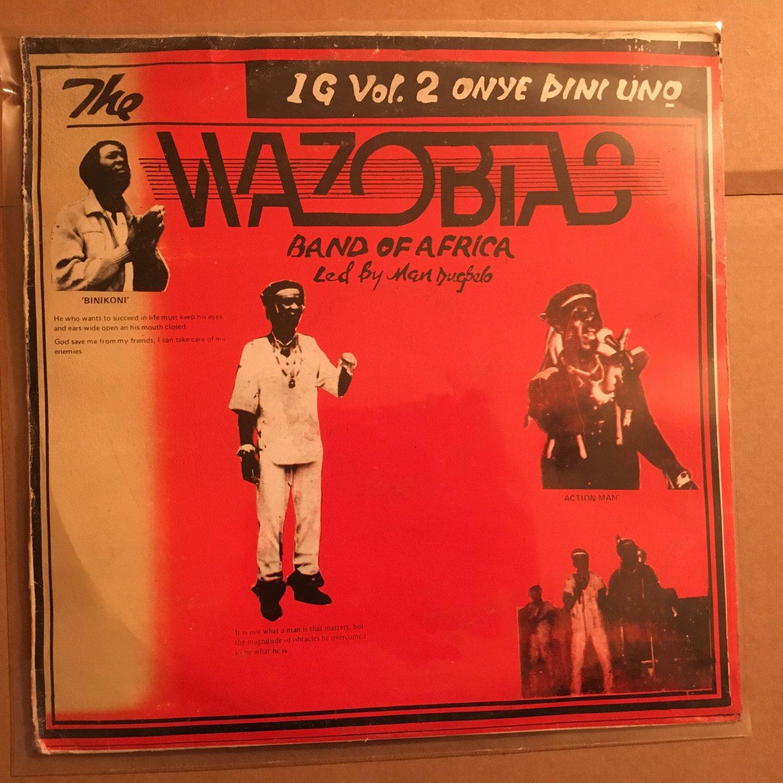 THE WAZOBIAS LP vol. 2 NIGERIA HIGHLIFE mp3 LISTEN
