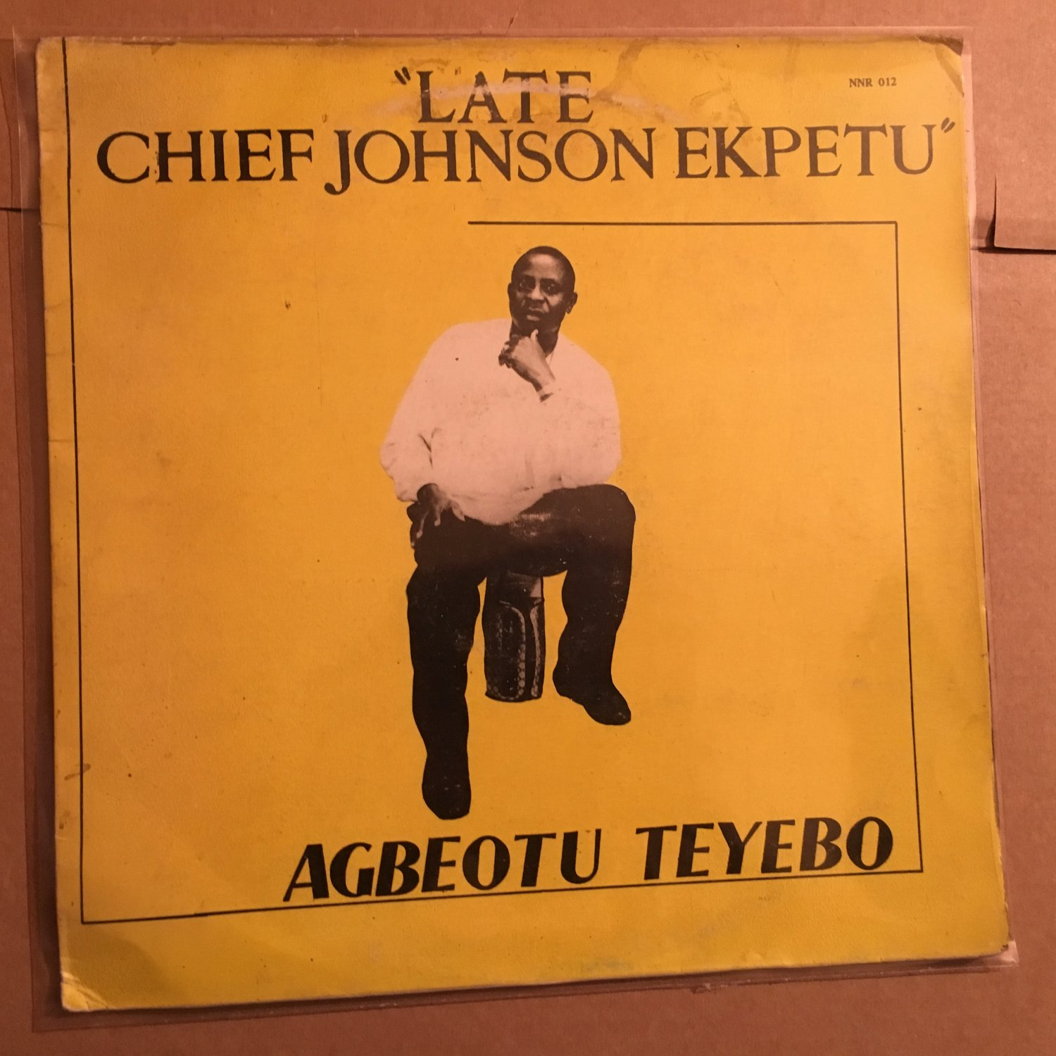 AGBEOTU TEYEBO LP late Chief Johnson Ekpetu NIGERIA HIGHLIFE mp3 LISTEN