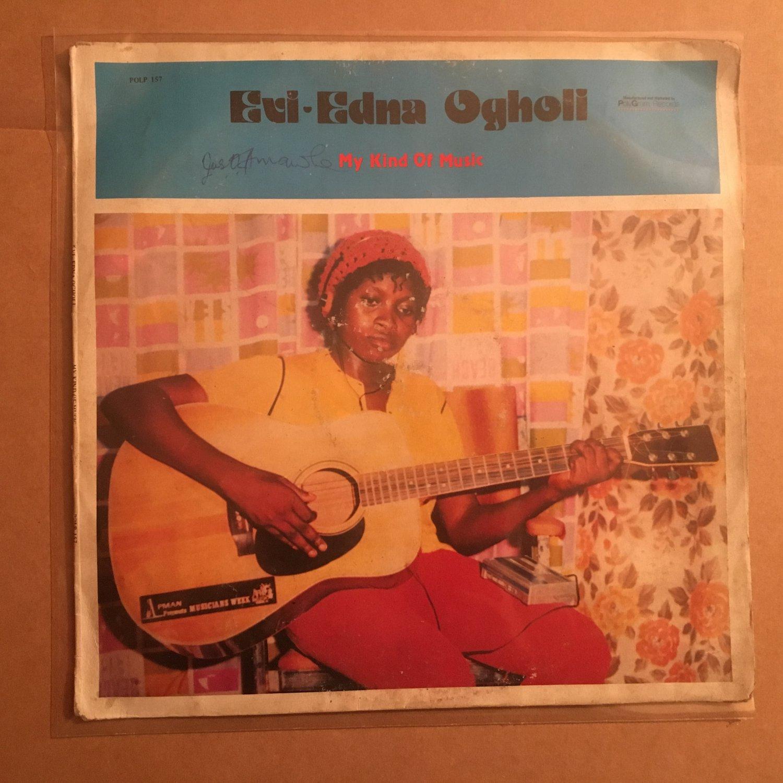 EVI EDNA OGHOLI LP my kind of music NIGERIA REGGAE EARLY DIGITAL mp3 LISTEN