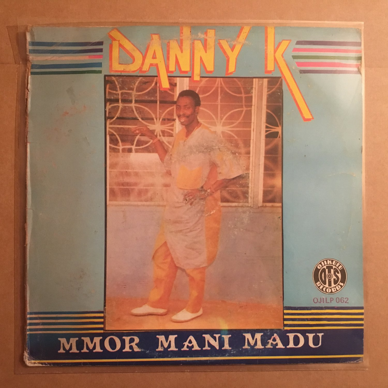 DANNY K LP mmor mani madu NIGERIA HIGHLIFE mp3 LISTEN