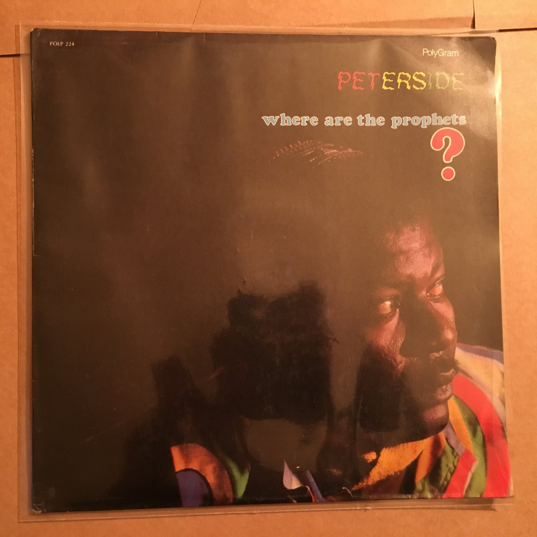 PETERSIDE OTTONG LP where are the prophets NIGERIA REGGAE mp3 LISTEN