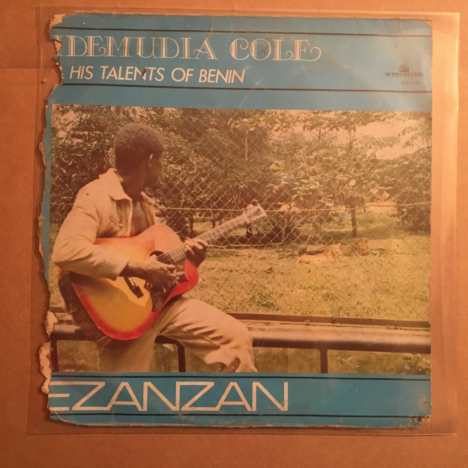 IDEMUDIA COLE & TALENTS OF BENIN LP ezanzan NIGERIA EDO FUNK HIGHLIFE mp3 LISTEN