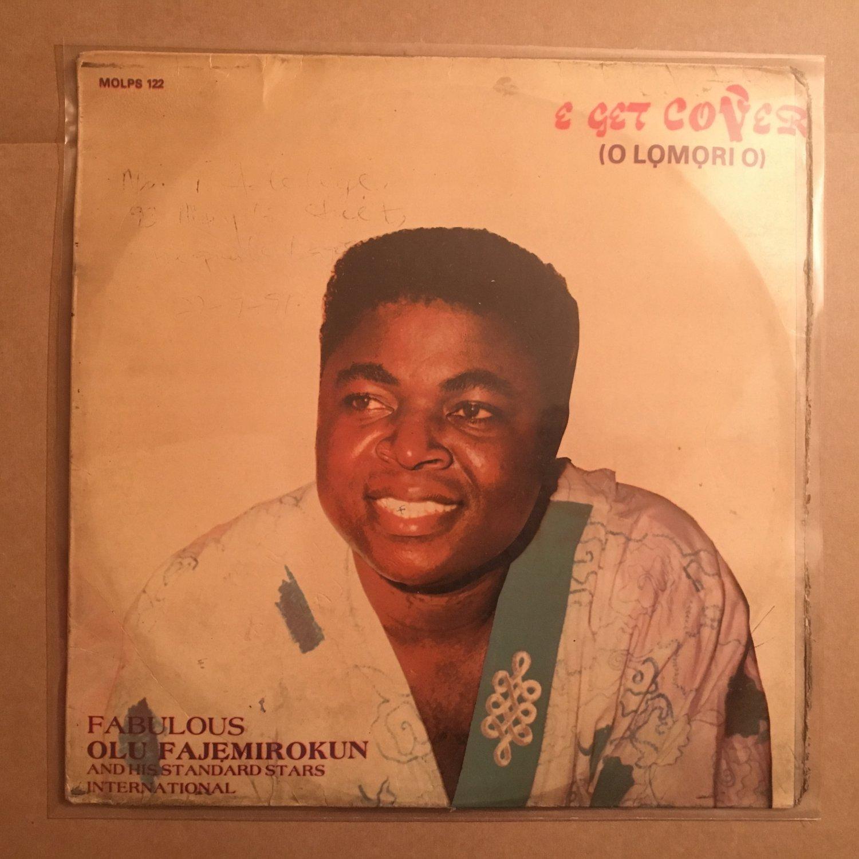 FABOLOUS OLU FAJEMIROKUN LP e get over NIGERIA JUJU mp3 LISTEN