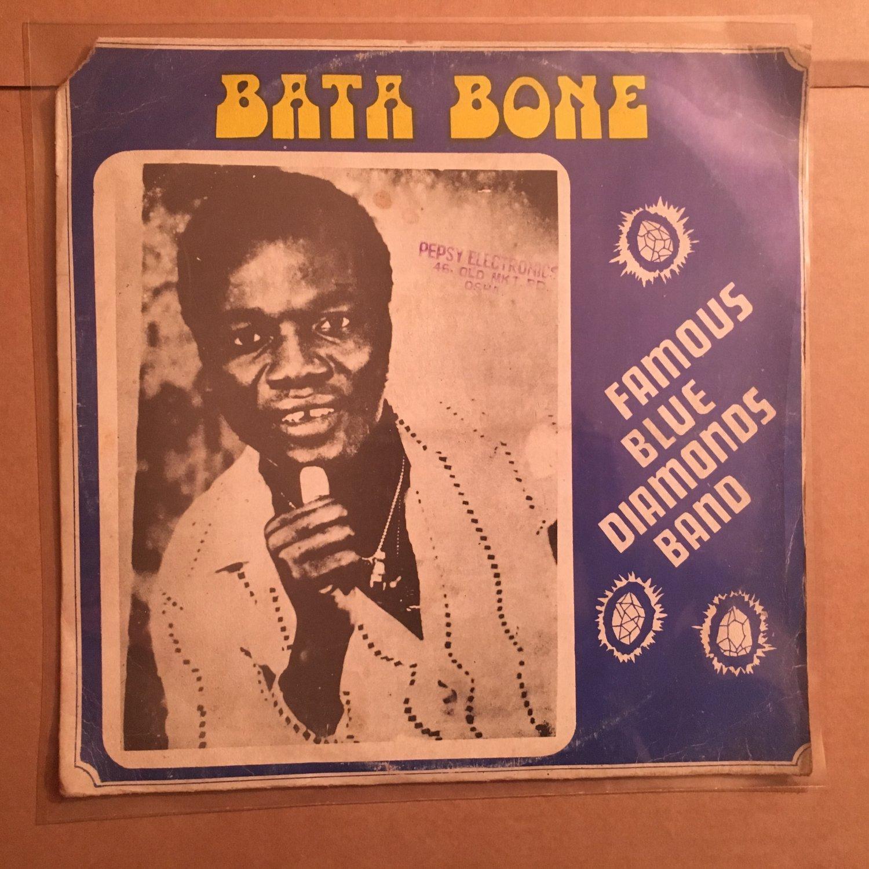 FAMOUS BLUE DIAMONDS BAND LP bata bone GHANA HIGHLIFE mp3 LISTEN