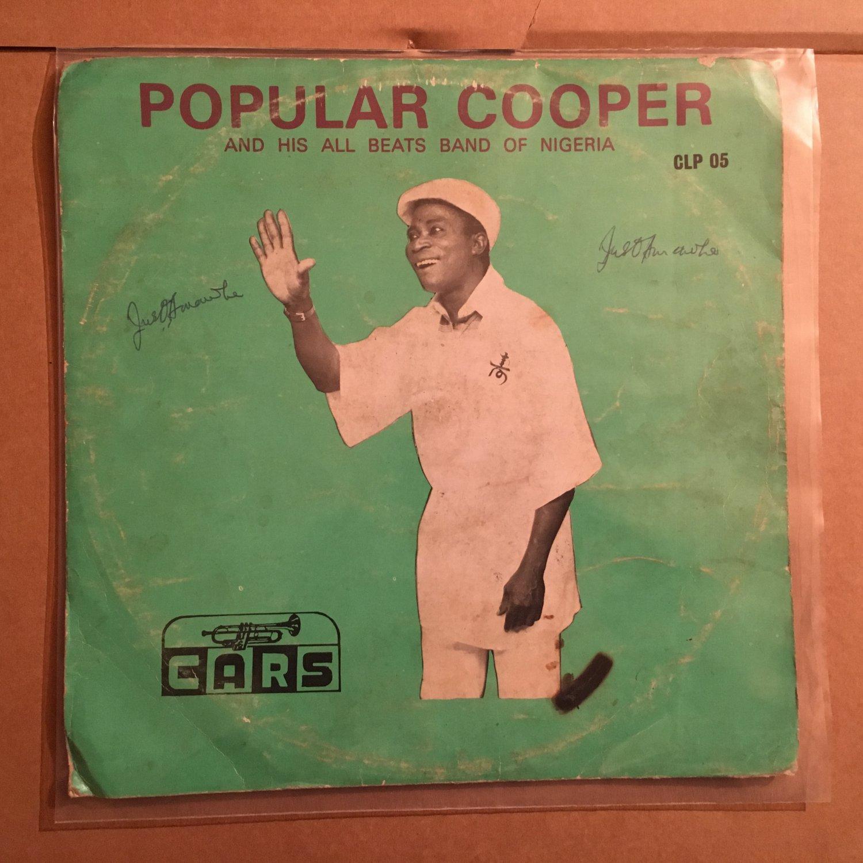 POPULAR COOPER & HIS ALL BEATS BAND LP same NIGERIA DEEP HIGHLIFE mp3 LISTEN