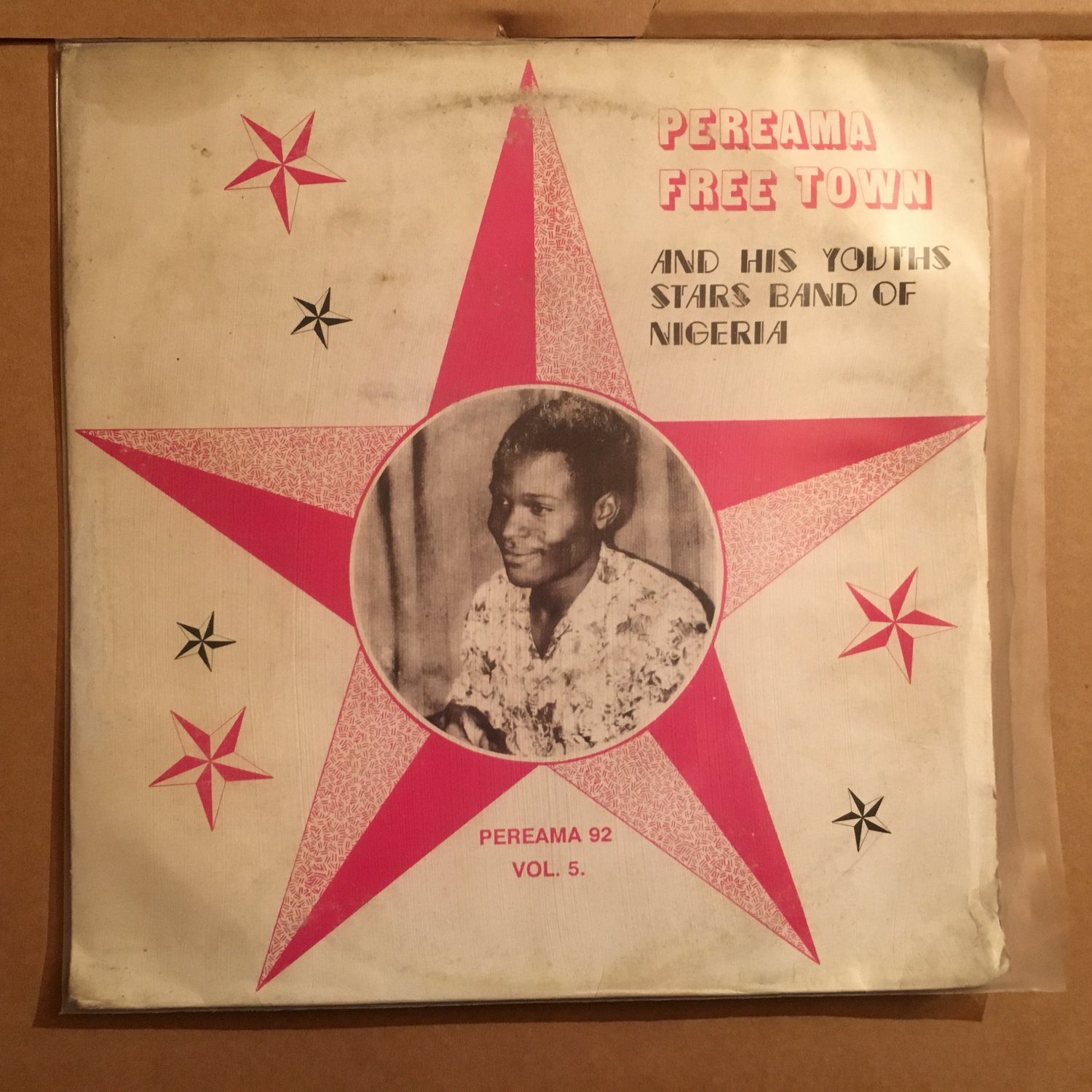 PEREAMA FREE TOWN & HIS STARS BAND LP vol. 5 NIGERIA mp3 LISTEN