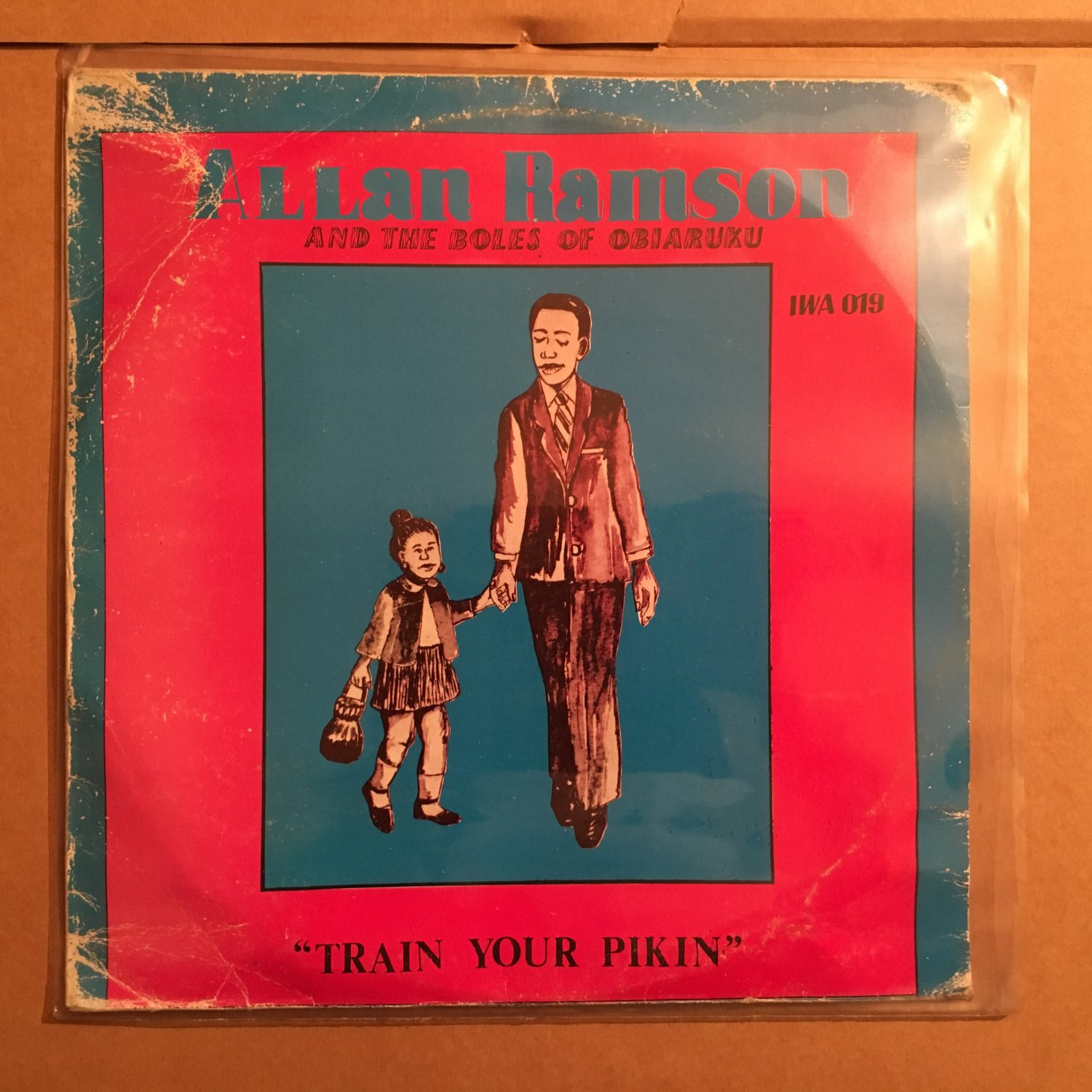 A.LLAN RANSOM & THE BOLES OF OBIARUKU LP train your pikin NIGERIA mp3 LISTEN