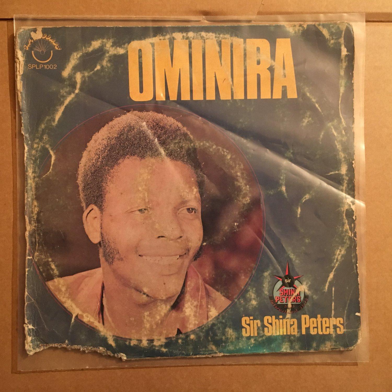 SIR SHINA PETERS LP ominira NIGERIA JUJU PSYCH FUNK SYNTH mp3 LISTEN