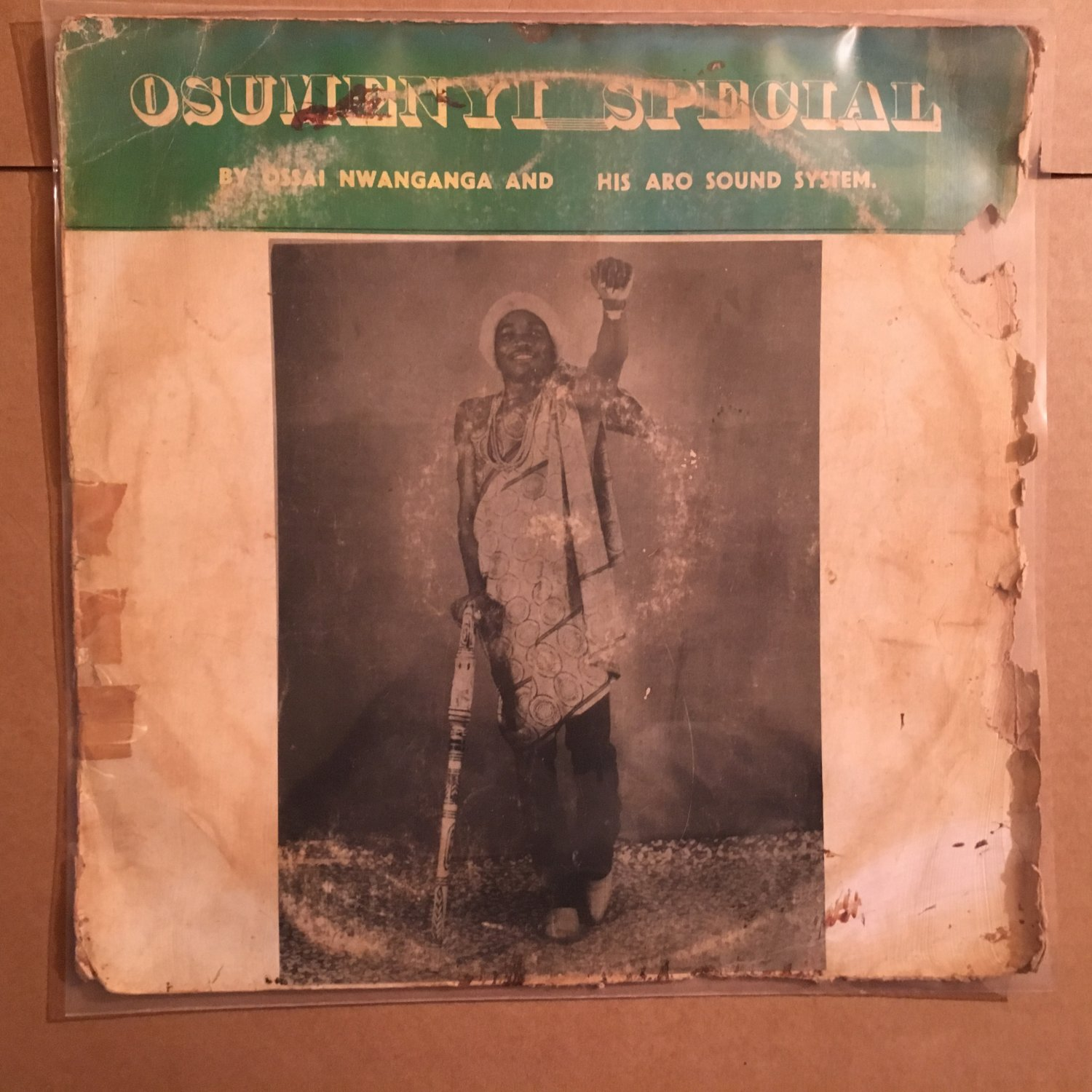 OSSAI NWANGANGA & HIS ARO SOUND SYSTEM LP osumenyi special NIGERIA mp3 LISTEN
