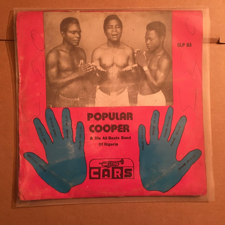 POPULAR COOPER & HIS ALL BEATS BAND LP oghene NIGERIA mp3 LISTEN