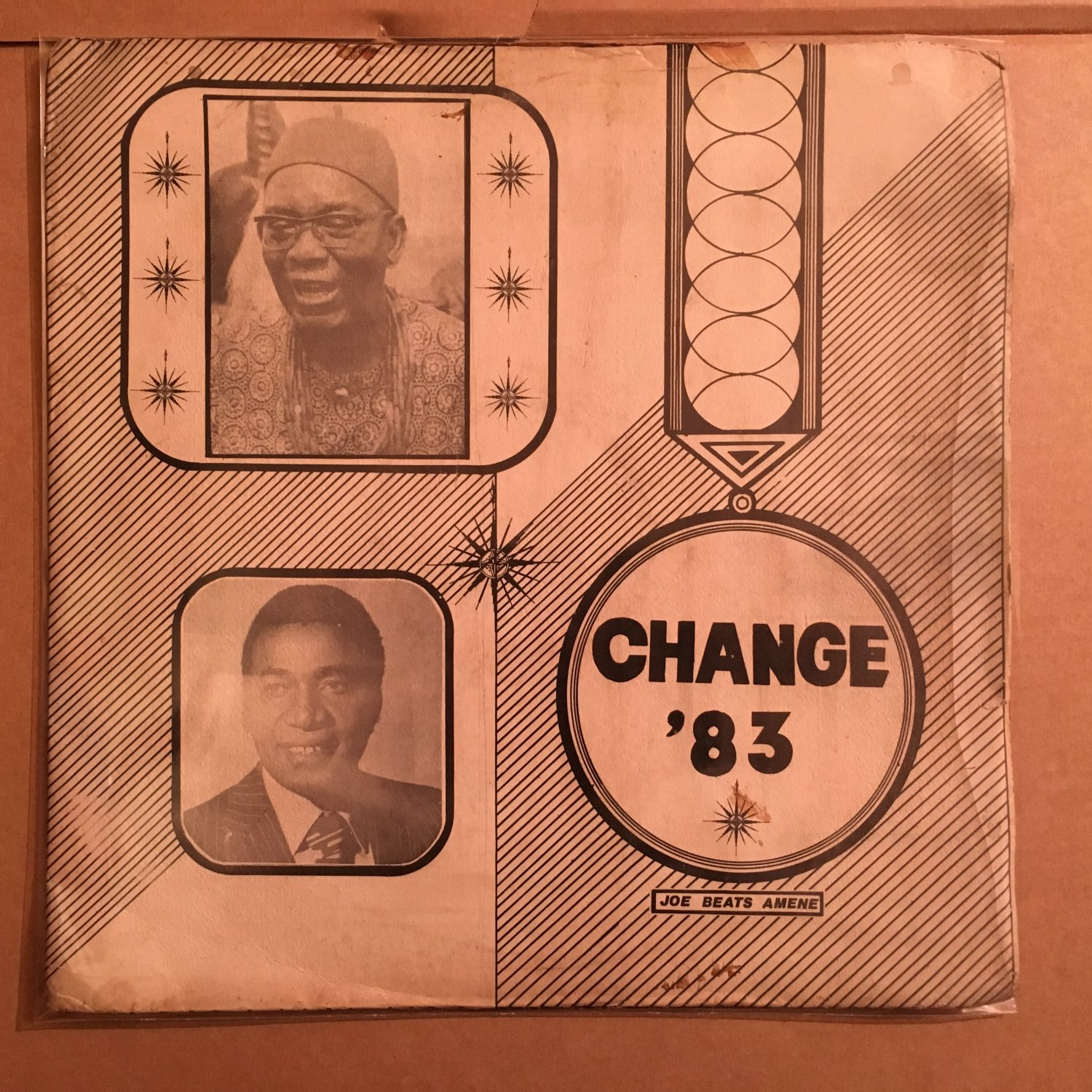 JOE BEATS AMENE LP change 83 NIGERIA OBSCURE FUNKY mp3 LISTEN