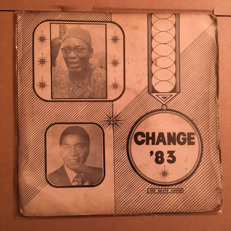 JOE BEATS AMENE LP change 83 NIGERIA OBSCURE FUNKY mp3 LISTEN