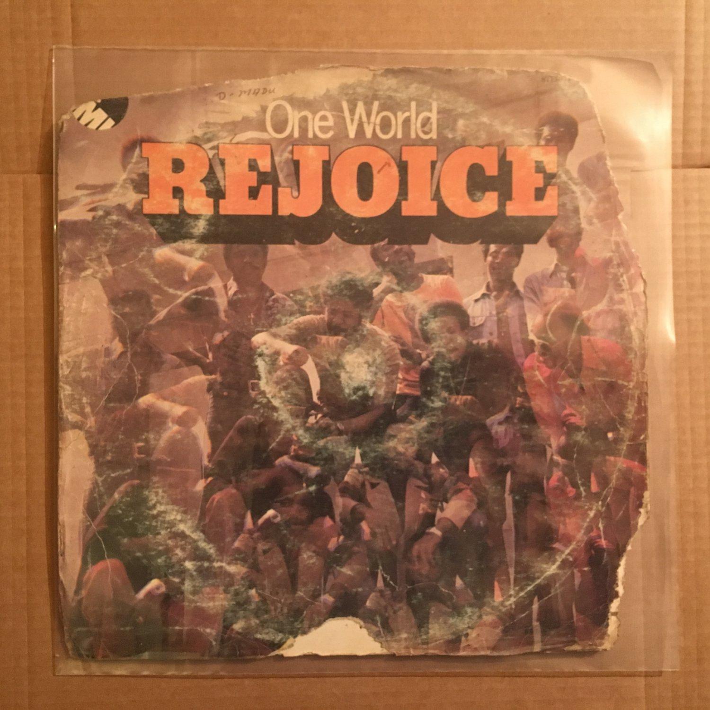 ONE WORLD LP rejoice NIGERIA AFRO FUNK mp3 LISTEN