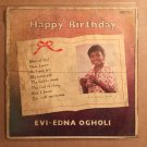 EVI EDNA OGHOLI LP happy birthday NIGERIA REGGAE mp3 LISTEN