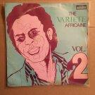 THE VARIETE AFRICAINE LP vol. 2 ZAIRE CONGO SOUKOUS mp3 LISTEN