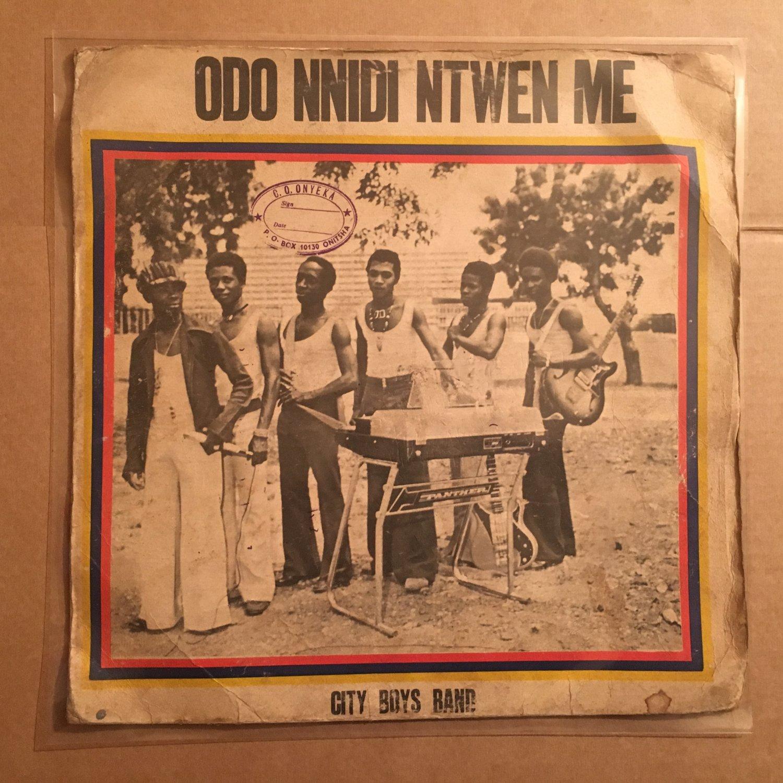 CITY BOYS LP odo nnidi ntwen me GHANA AFRO BEAT HIGHLIFE mp3 LISTEN