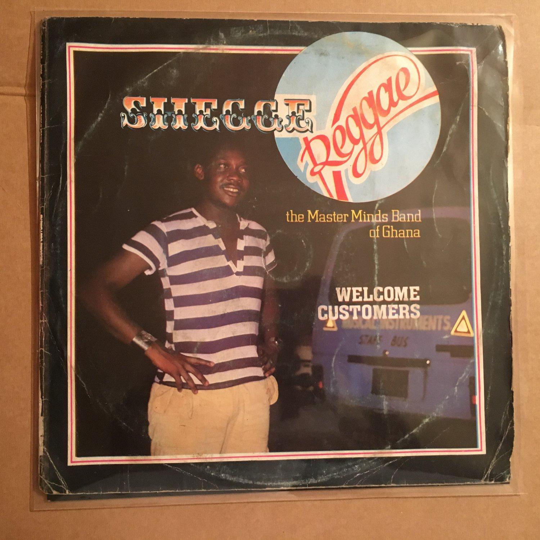 SHEGGE REGGAE THE MASTERMIND LP welcome customers GHANA