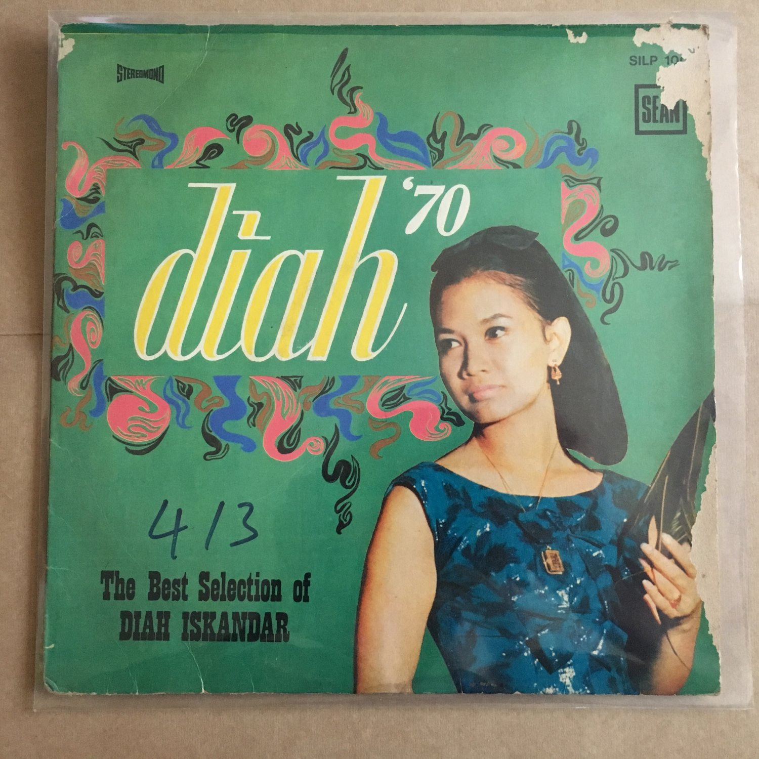 DIAH ISKANDAR LP best selection RARE INDONESIA 60's BEAT BOSSA JAZZ mp3 LISTEN