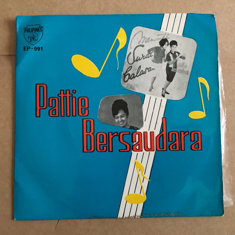 PATTIE BERSAUDARA 45 EP kitjir kitjir INDONESIA GARAGE 60s mp3 LISTEN
