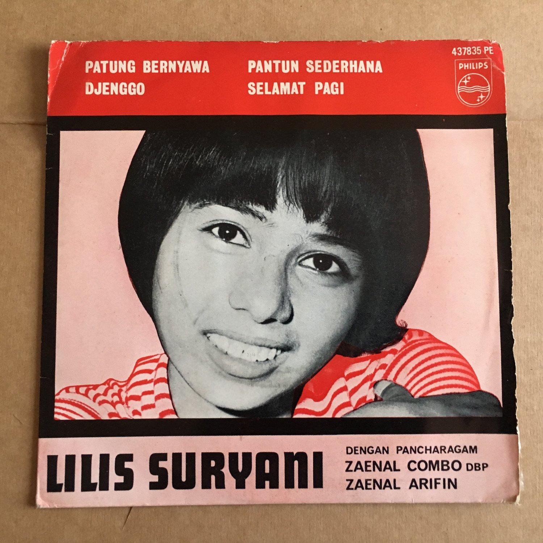 LILIS SURYANI & ZAINAL COMBO 45 EP djenggo INDONESIA GARAGE 60's mp3 LISTEN