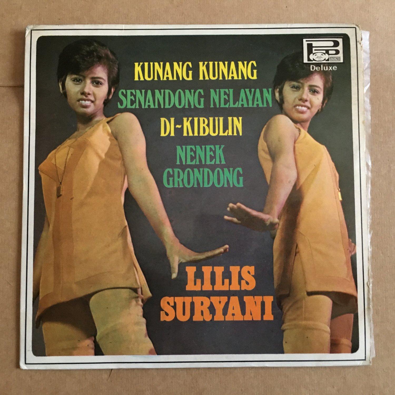 """LILIS SURYANI 45 EP kunang kunang INDONESIA 60's mp3 LISTEN 7"""""""
