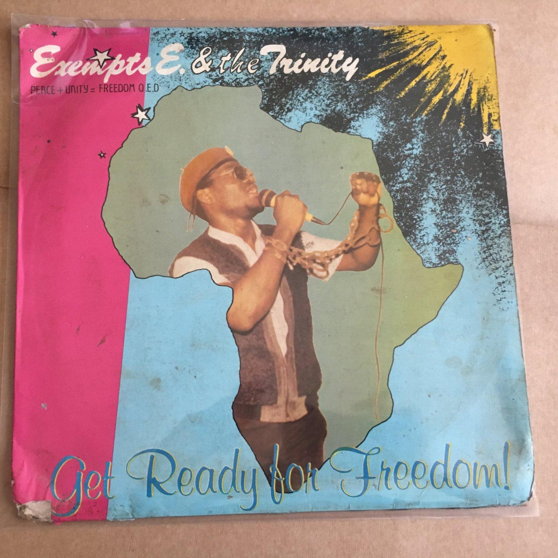 EXEMPTS E. & THE TRINITY LP get ready for freedom NIGERIA REGGAE mp3 LISTEN